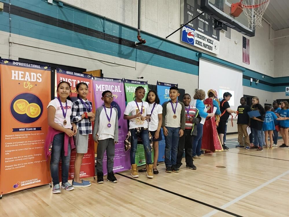 Brighton's Destination Imagination Club