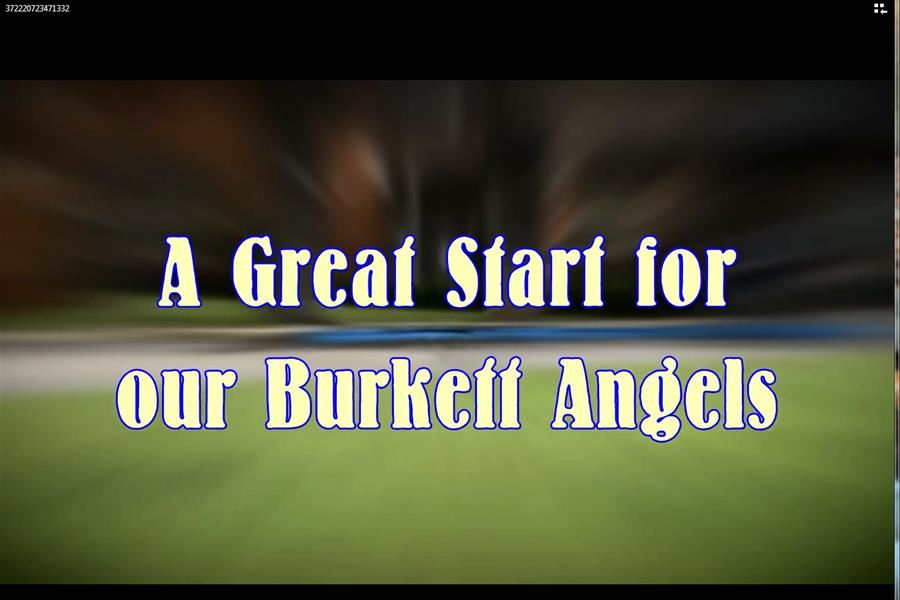 A great start for our Burkett Angels