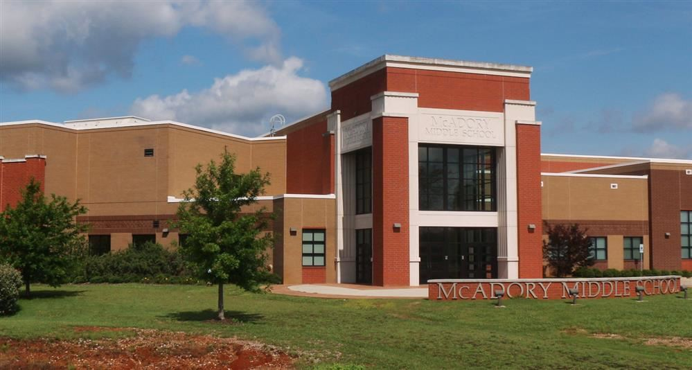 Exterior of McAdory MS