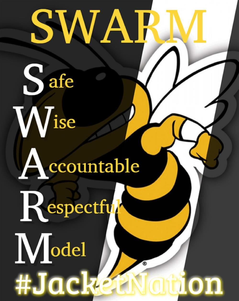 SWARM- Safe, Wise, Accountable, Respectful and Model