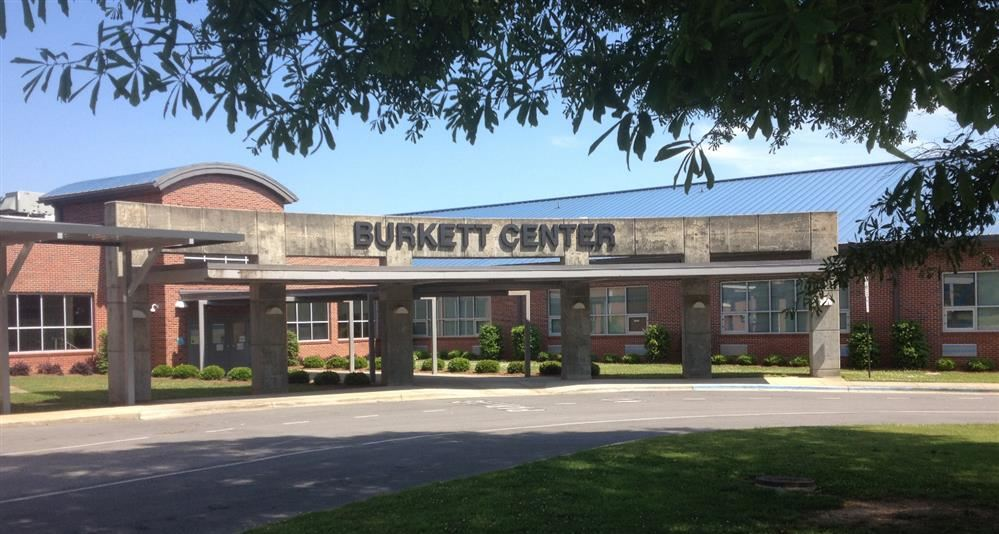 Exterior of Burkett Center