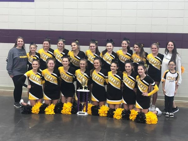 CMS Cheerleaders Win First Place