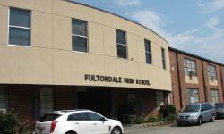 Front of Fultondale HS Building