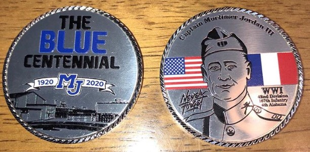 commemorative coin front and back