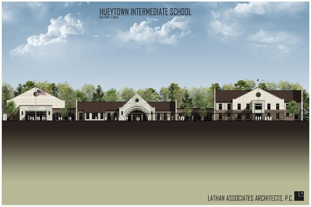 Hueytown Intermediate School Rendering