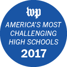 WP American's Most Challenging High Schools 2017 Badge