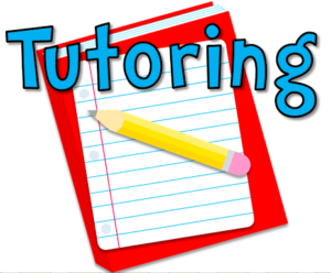 Tutoring with notebook and pencil