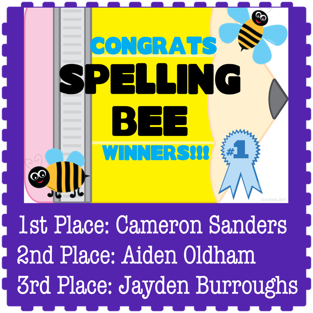MCS Spelling Bee Winners