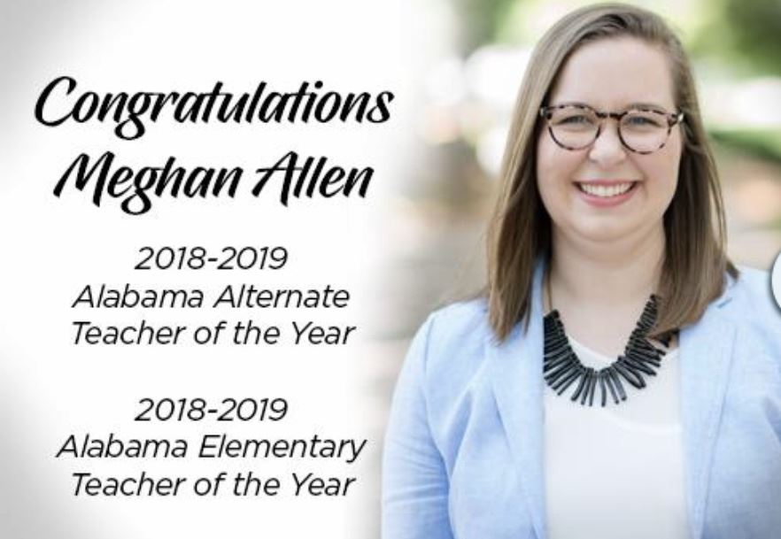 MCS' Teacher of the Year Photo