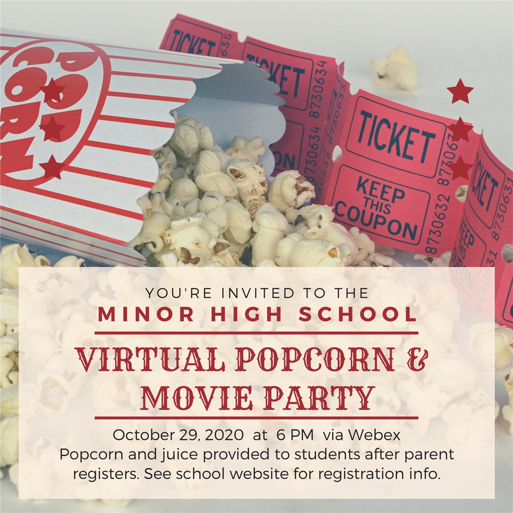 Click Here To Register For Virtual Movie Night