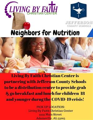 Neighbors for Nutrition with Living By Faith Christian Center