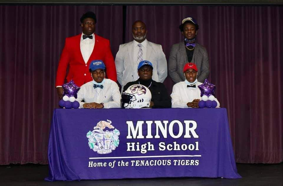 Signing Day at Minor High!