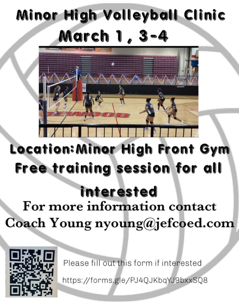 Volleyball Clinic (Click here!)