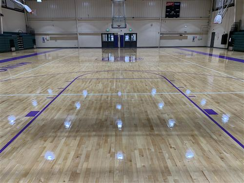 A Special thanks to JEFCOED and Covington Flooring for our newly refinished gym floor!!!