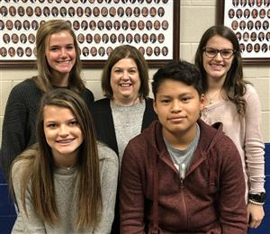 October Students and Teacher of the Month