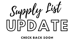 Supply Lists Being Updated