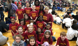 Group photo of second grade science olympiad team.