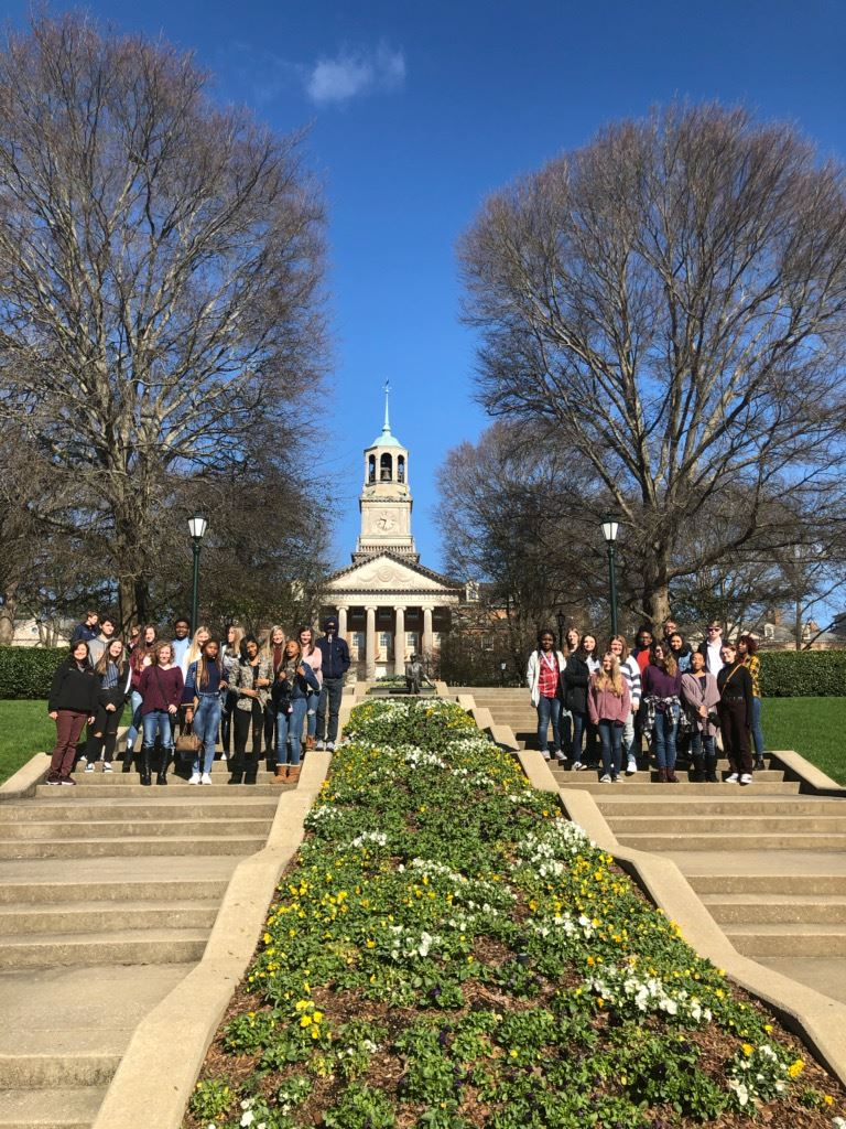 PV Students Tour Samford