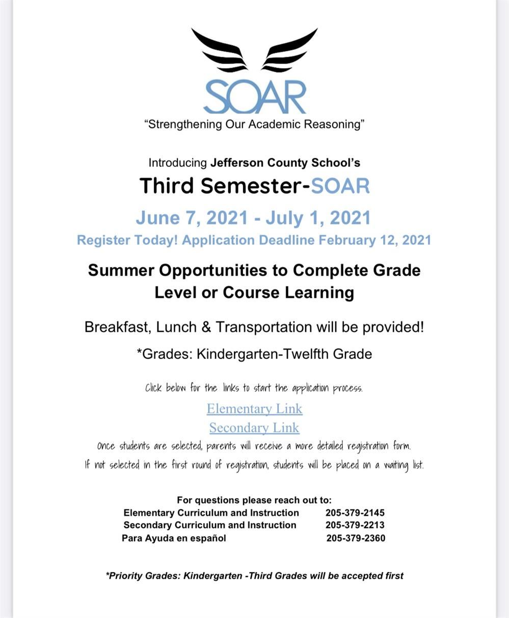 SOAR - Strengthening Our Academic Reasoning