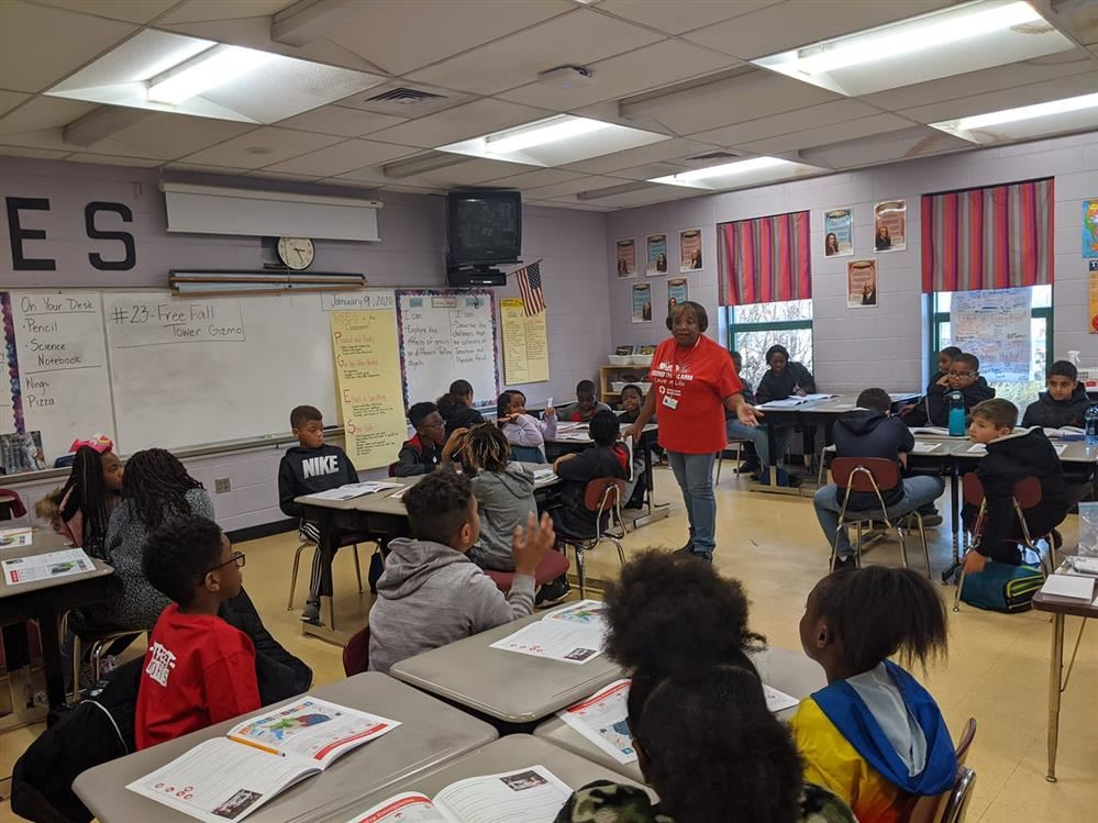 Red Cross Visits PGES