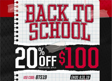 Twenty percent off school store