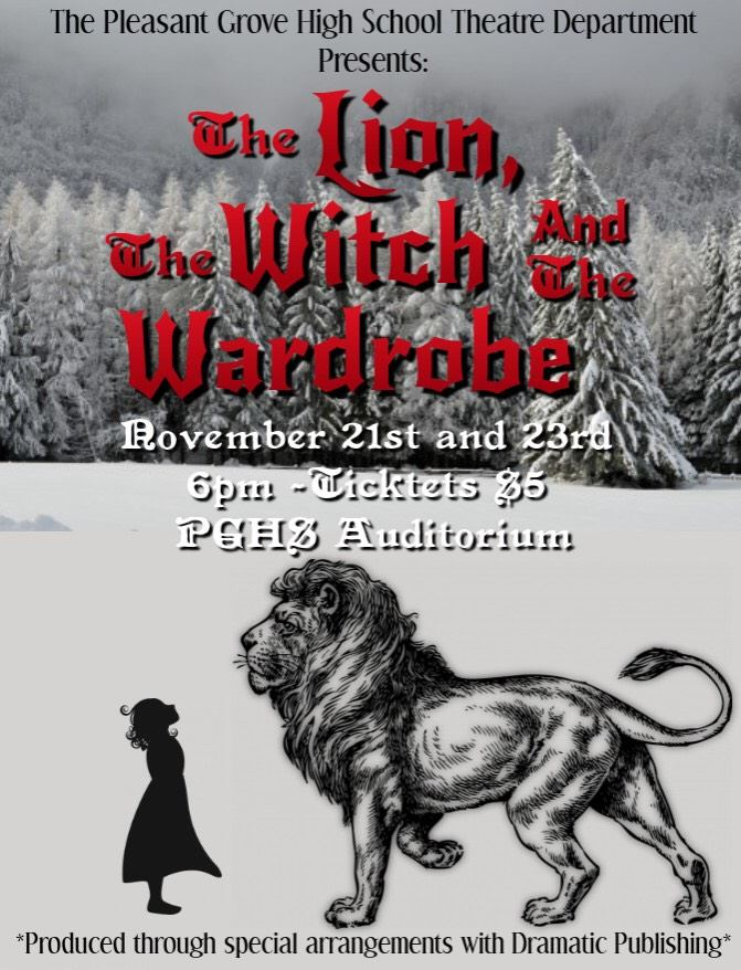 The lion, the Witch, and the Wardrobe poster