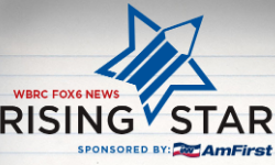 WBRC Fox 6 Rising Star Logo
