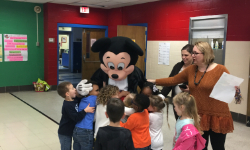 Mickey Mouse Visits Warrior
